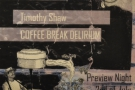Over the summer, I went to the launch of Coffee Break Delirium at Leyas.