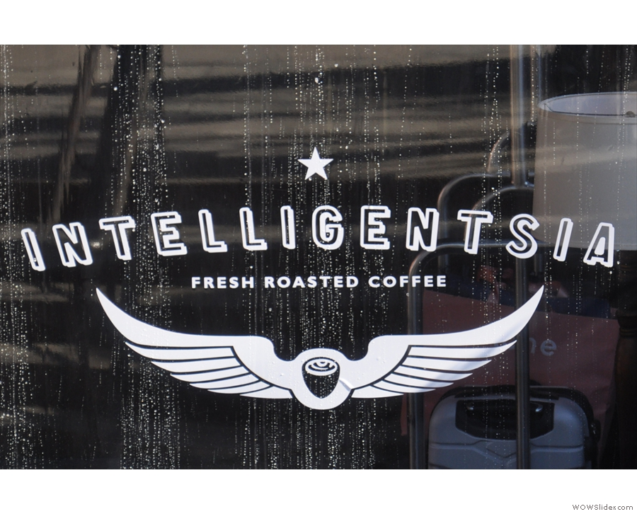 Intelligentsia, in the lobby of New York City's High Line Hotel, has seating front and back.