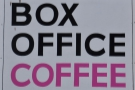 Bridport's Box Office Coffee. In a Box Office. Obviously. And yes, it's small.