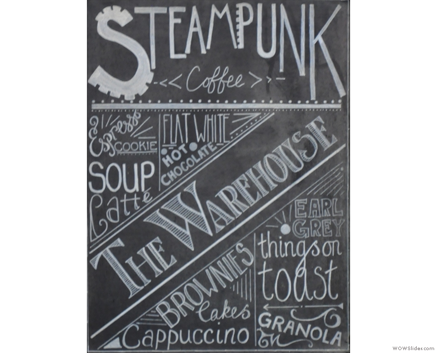 Steampunk, roasting, retailing and running a cafe (plus a van or two) in North Berwick.