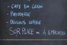 And the last one from Paris (for this year), it's Fondation Cafe.