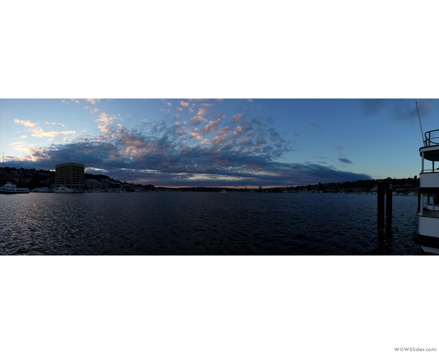 Finally, I made it down to Lake Union for a lovely sunset.
