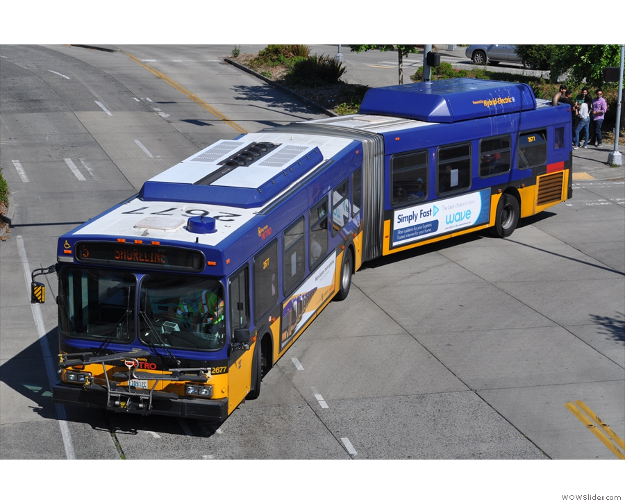 Then, hop on a bus, part of Seattle's excellent public transport network...