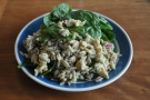 ... where I refuelled with this lovely salad.