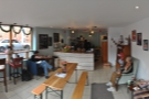 A panorama from just inside the door...