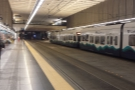 ... and a transfer in this weird, underground station, onto the light rail...