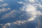 Soon we were flying high over the Rockies. What amazing views! Click the picture for a map.