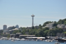 You also get a good view of the famous Space Needle from the mound.