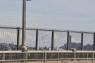 ... and looking the other way, across the bridge, it's Mount Rainier.