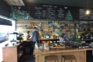 It's almost as if Meadow Road is two for the price of one: excellent coffee on the left...