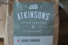 Even though I was in Glasgow, I went for the Atkinsons Kenyan through the V60.