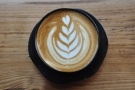 The instagram view shows off the latte art to the best effective, don't you think?