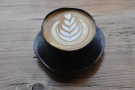The cups, by John Maguire, are amazing too. I saw them at the Glasgow Coffee Festival.