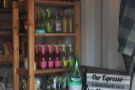 As well as coffee, Terrone has a very well-stocked drinks cabinet!