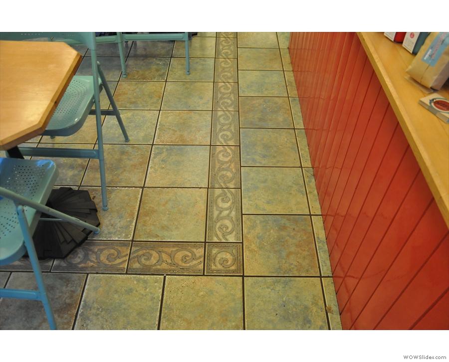 Nice floor tiles too.