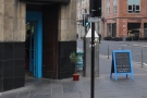And, looking west along Ingram St, there's Tinderbox, stalwart of Glasgow's coffee scene.