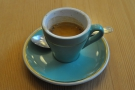 I had a very lovely espresso...