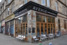 Avenue Coffee on Glasgow's Great Western Road: two for the price of one.