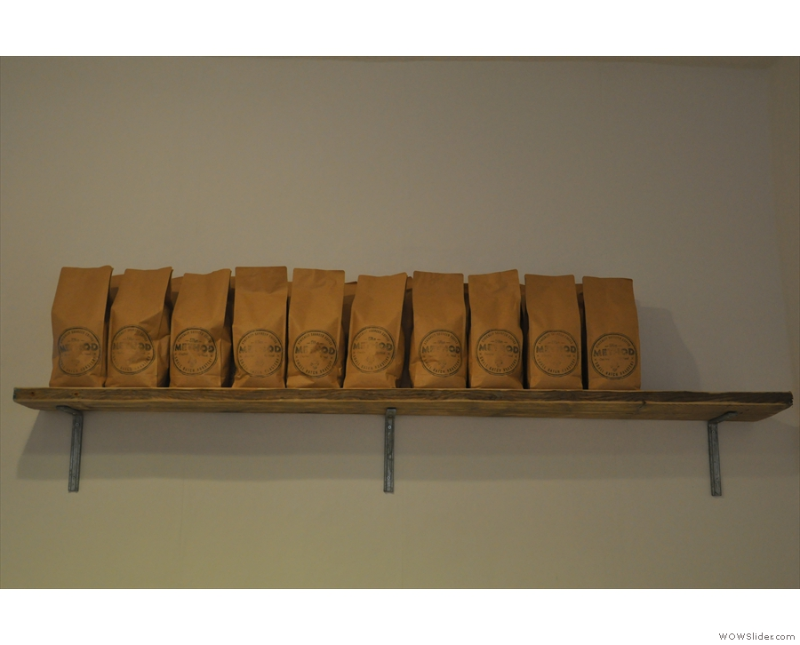 More coffee! In case you're wondering, it's all from Method Roastery in Herefordshire.