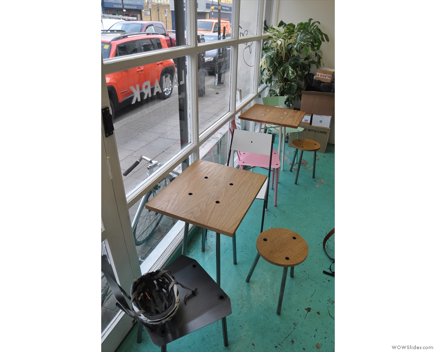 There are these two tables in the window...