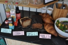 A small but select range of cake. And soft drinks.