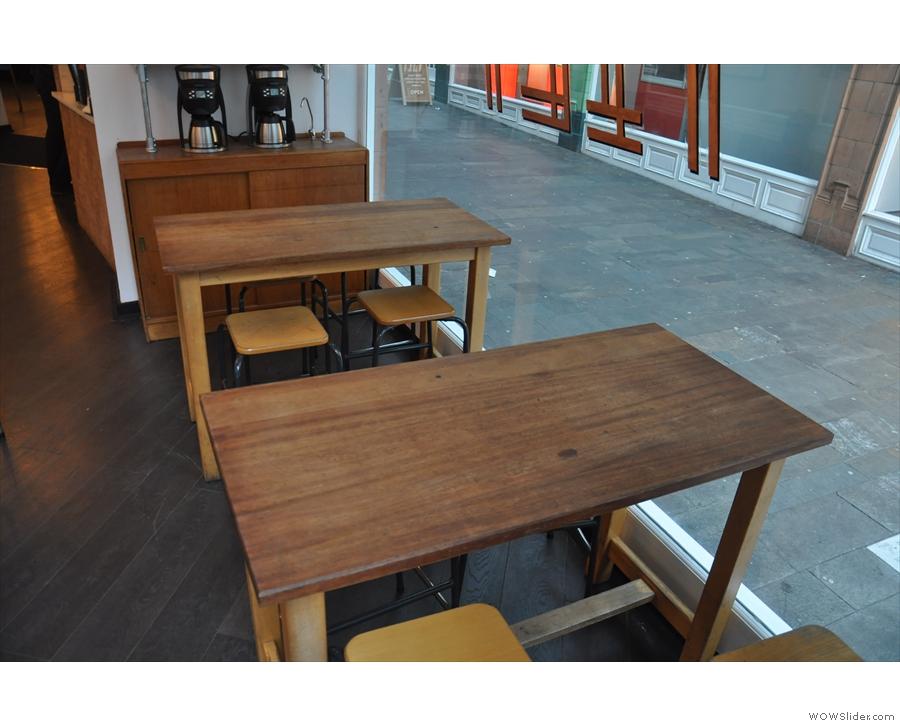 Nice tables.