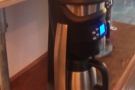 .. and we're off! Gary reckons it makes better coffee than he does!