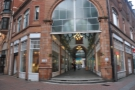Birmingham's Tilt, at one end of the City Arcade, where Warwick & Union Passages meet.