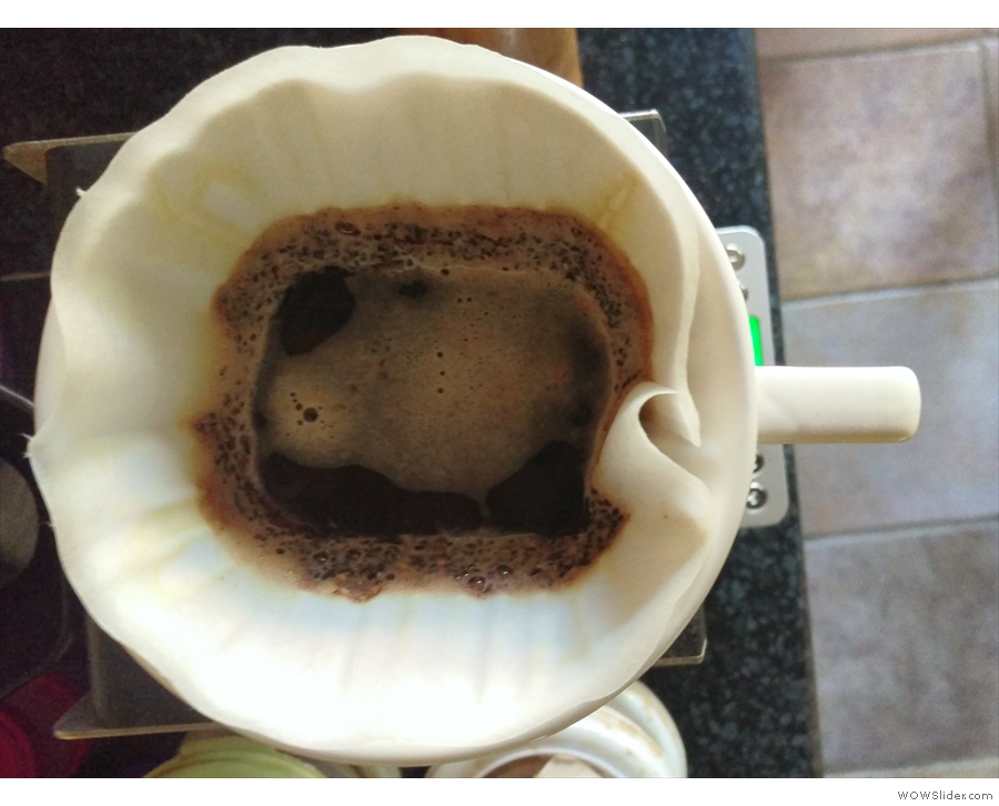 ... and I'm pleased to say that I'm now making consistently good pour-over coffee at home!