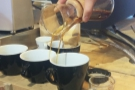 Ever wondered how to pour from a Chemex into two cups at once? Luke's your man!