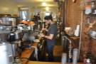 A behind-the-scenes view of the Synesso espresso machine in action.