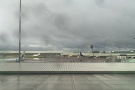 Although the sun did briefly come out, just to tease us. The airport almost looks pretty...