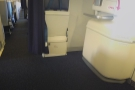 This, by the way, is why I pay for an exit-row seat. Look at all that leg-room & space!
