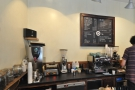 However, I'd come for coffee, which is the domain of the left-hand side of the counter.