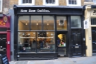 New Row Coffee, a lovely little spot, on, appropriately enough, New Row.