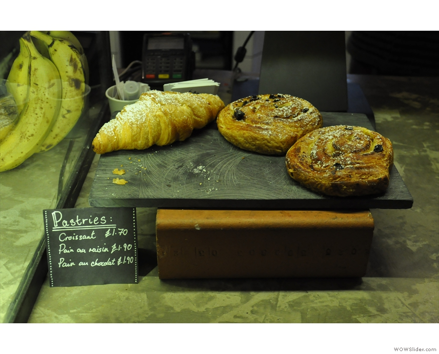 ... plus some pastries on the counter-top for good measure.