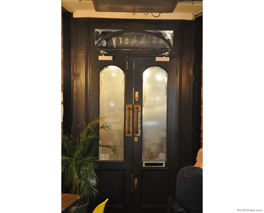 ... then comes the door itself...