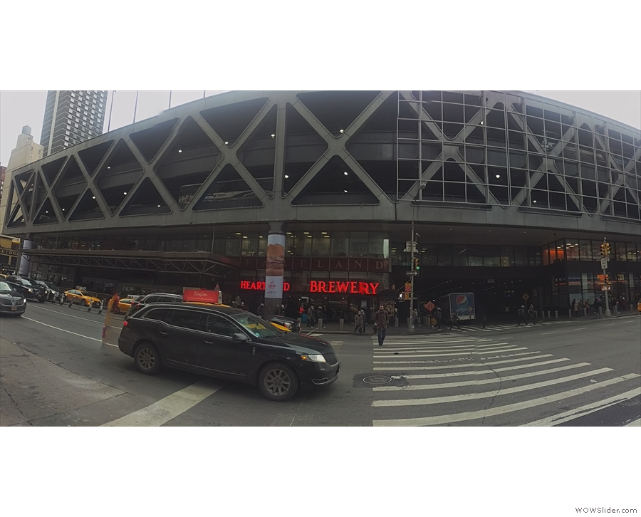 And here is it, my other gateway into/out of New York, the Port Authority Bus Terminal.