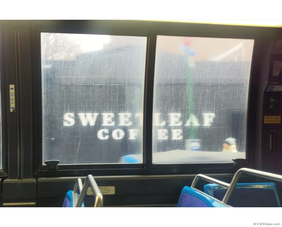 ... which went past another of Sweetleaf's four locations.