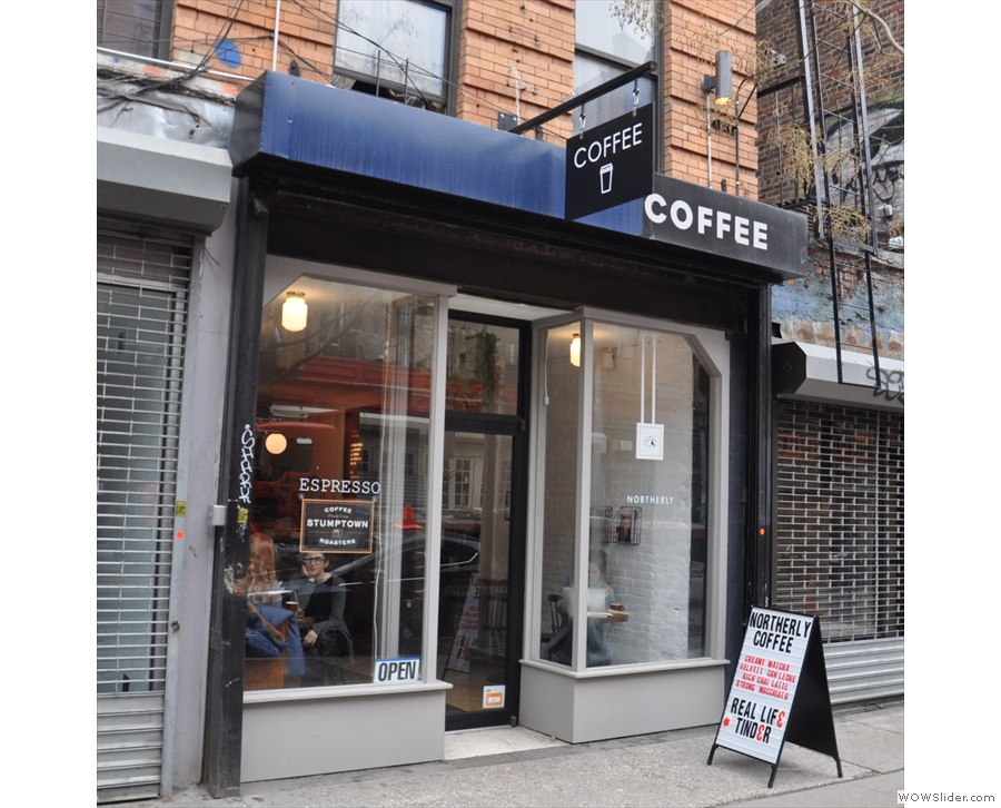 Once in Williamsburg, I headed for an old favourite, which had been Daily Press...