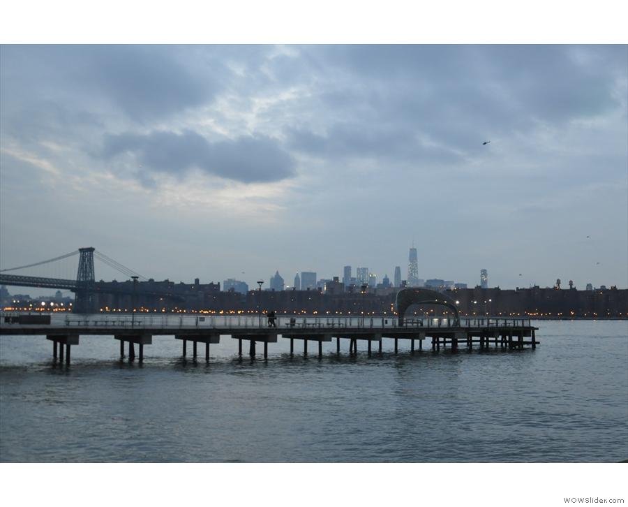 ... where I got some good views of Manhattan...