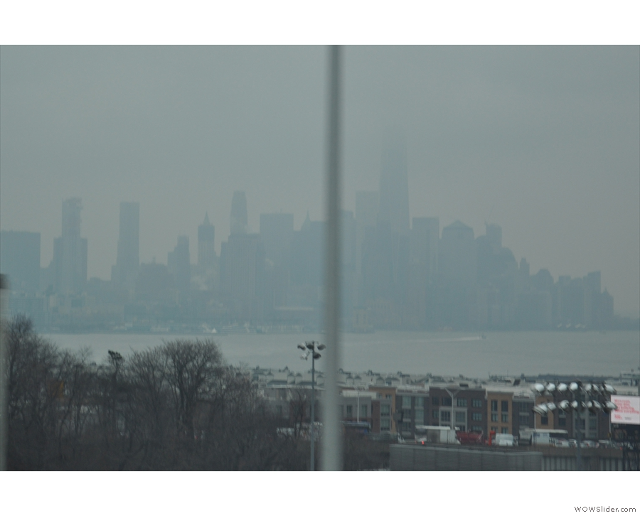 I think that's lower Manhattan over there!