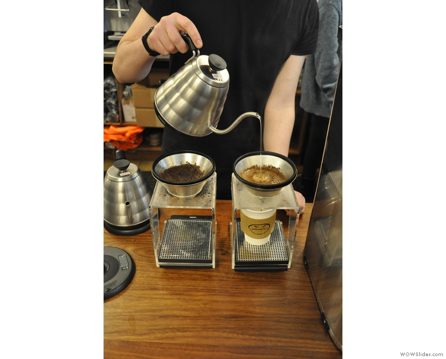 Cafe Grumpy is known for its pour-over coffee (I visited its Chelse branch last year).
