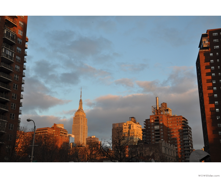 Talking of evening light, here's the Empire State Building (again) looking pretty gorgeous.