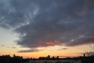 I was using the High Line to get to my next destination when I saw this lovely sunset.