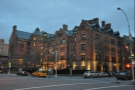 I was heading north, towards the High Line Hotel, where I'd been last year.