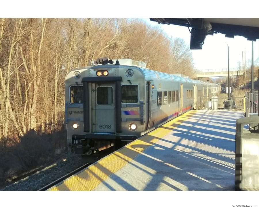 But, to be honest, it's a train, much like any other. This took me to Newark Broad Street...