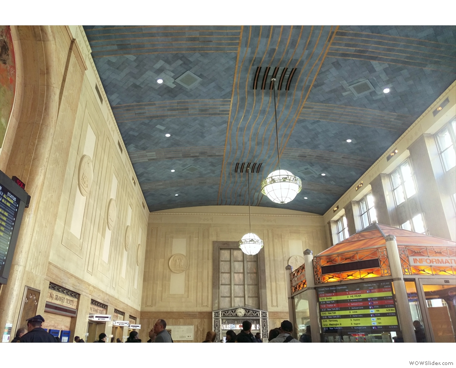 Upstairs, it might not be NYC's Grand Central, but it's a step up from NYC's Penn Station!