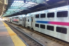 However, New Jersey has double-decker trains! I still get a kick out of double-decker trains!