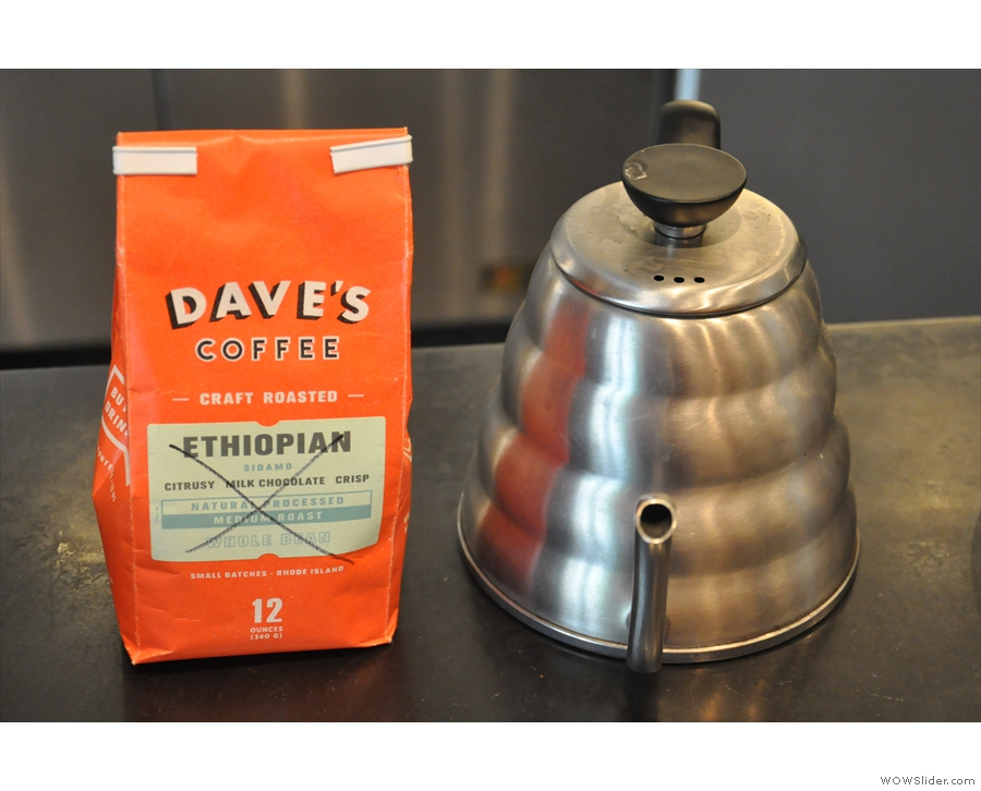 Dave's was featuring a Papua New Guinea while I was there, and this one, from Ethiopia.